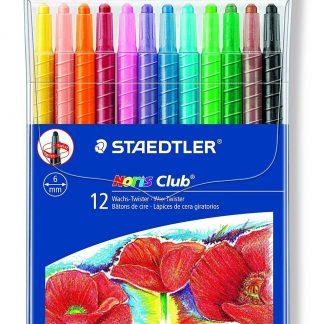 Staedtler Retractable Crayons 12